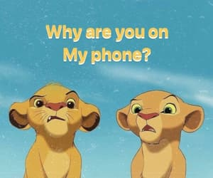 adorable, lion king, and wallpaper image