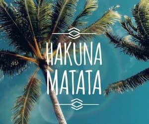hakuna matata, phrases, and words image
