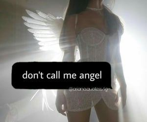 angel, female, and quote image
