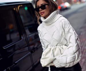 blogger, bottega veneta, and fashion image