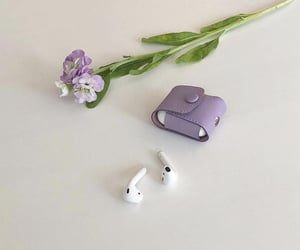 purple, aesthetic, and flowers image