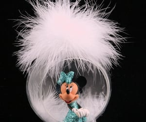 christmas, minnie, and ornament image