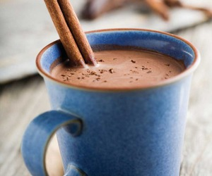 blue, chocolate, and drink image