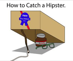 hipster, nutella, and box image