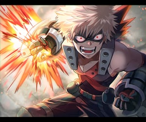 mha, bakugou, and bnha image