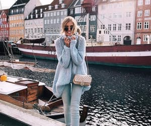 city, travel, and fashion image