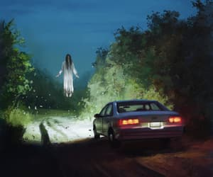 car, creepy, and levitate image
