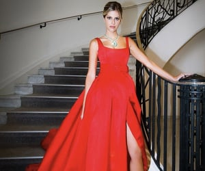 chic, heels, and dress image