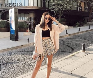 beautiful, girl, and outfit image