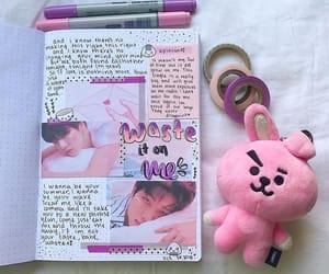 kpop bullet journal image
