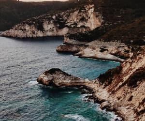 beach, blue, and Dream image