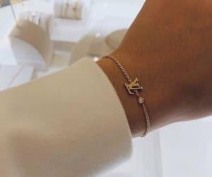 bracelet, Louis Vuitton, and LV image