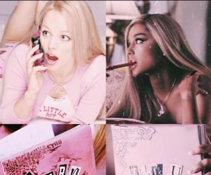 ariana grande, mean girls, and pink image