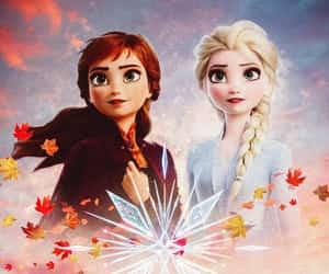 disney, movie, and frozen 2 image