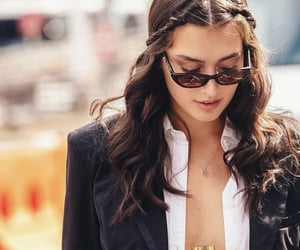 brunette, clothes, and new york image