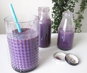 purple, drink, and aesthetic image