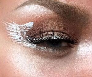 angel, eye, and make up image