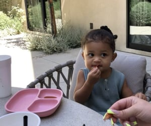 cute baby, kylie jenner, and baby style image