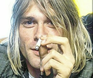 kurt cobain, nirvana, and 90s image