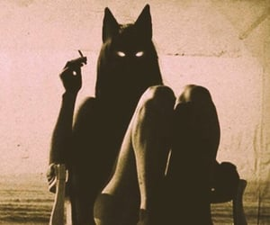 alternative, women, and cat image
