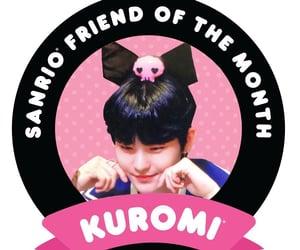 black, edit, and kuromi image