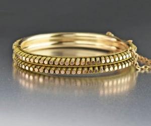 bangle, bracelet, and rose image