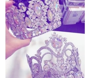 bling, royalty, and crowns image