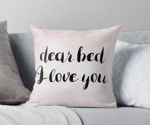throw pillow, blush pink, and decorative pillows image