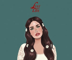 art, ️lana del rey, and flowers image
