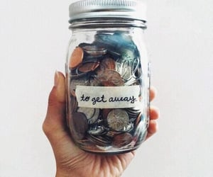 money, travel, and hipster image