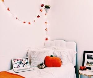 autumn, pumpkin, and room image