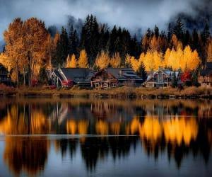 autumn, fall, and barn image