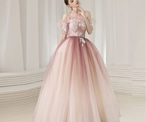 girl, long dress, and prom dresses 2019 image