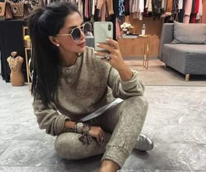 fashion girl, pants, and sneakers image