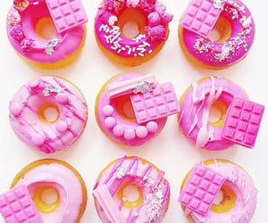 candy, donuts, and doughnuts image