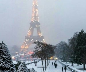 beautiful, winter, and citylights image