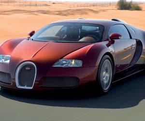 bugatti veyron, engine, and highway image
