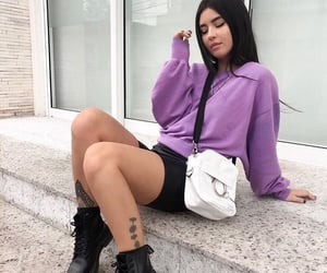 bag, influencer, and brunette image