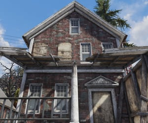 abandoned, fallout, and house image