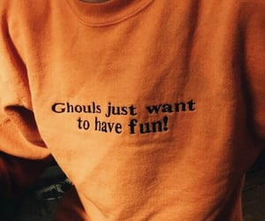 candy corn, ghosts, and sweater image