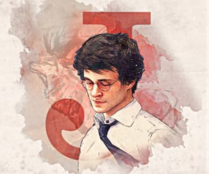 harrypotter, james potter, and prongs image
