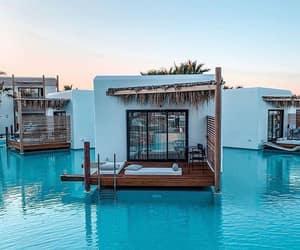 crete, Greece, and pool image