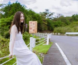 actress, chinese actress, and ad camapign image