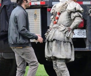 behind the scenes, Bill Hader, and it image