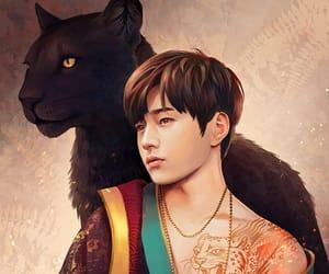 fanart, myungsoo, and fantasy image