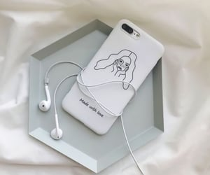 aesthetic, white, and case image
