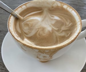 white and coffe image