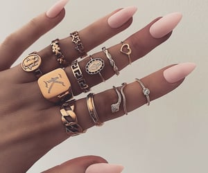 fashion, beauty, and rings image