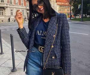 Balmain, blogger, and fashion image