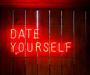 aesthetic, date, and red image